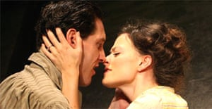 Bertie Carvel (Leo Frank) and Lara Pulver (Lucille Frank) in Parade, Donmar Warehouse