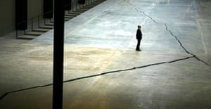 Doris Salcedo's Turbine Hall installation at Tate Modern