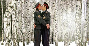 Kissing Policemen (An Epoch of Clemency) by Blue Noses