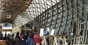 The Downland Gridshell by Edward Cullinan