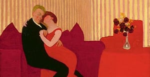 Félix Vallotton's The Lie