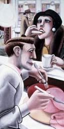 The Snack Bar by Edward Burra, 1930