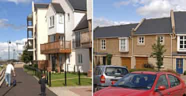 Ingress Park and Waterstone Park housing