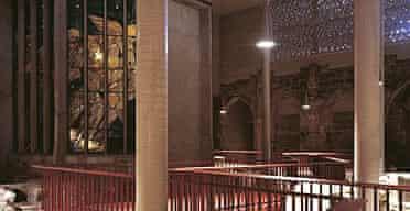 Inside the Kolumba art museum in Cologne