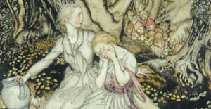 Lizzie, Lizzie, Have You Tasted for My Sake the Forbidden Fruit, 1933, by Arthur Rackham, Dulwich Picture Gallery