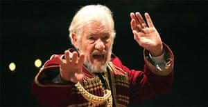 Ian McKellen in King Lear, New London Theatre