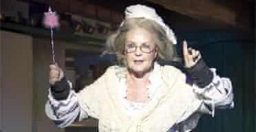 Pauline Collins in Cinderella, Old Vic