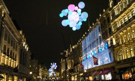 Regent Street Christmas lights 2007