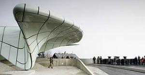 Zaha Hadid's railway stations in Innsbruck, Austria