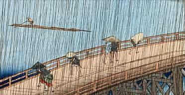 Hiroshige's Sudden Shower