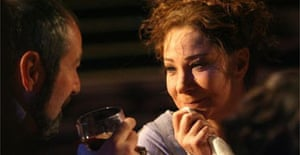 Zoe Wanamaker in Much Ado about Nothing at the Olivier, London