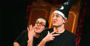 Jefferson Turner and Daniel Clarkson in Potted Potter, Trafalgar Studios, London