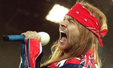 Axl Rose Mantan Vokalis Guns N Roses Sebut Jokowi Pengecut