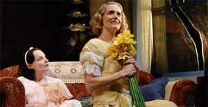 Nicola Harrison and Barbara Marten in The Glass Menagerie, Royal Lyceum, Edinburgh