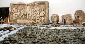 Disputed art: Confiscated antiquties in Thessaloniki in Greece