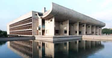 Le Corbusier's Chandigarh Legislative Assembly buildingChandigarh Legislative Assembly building