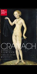 The Royal Academy poster for Cranach