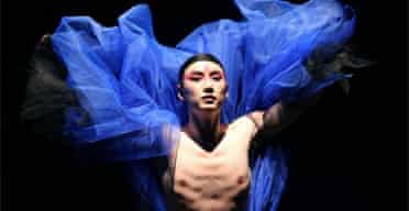 Chaoke (Flower) in Oath-Midnight Rain by Beijing Modern Dance Company, Linbury Studio