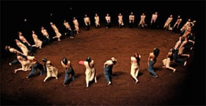 The Rite of Spring by Pina Bausch's Tanztheatre Wuppertal, Sadler's Wells, London