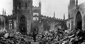 Coventry after its destruction in the second world war