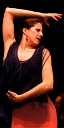 Maria Pages performs at the Sadler's Wells flamenco festival
