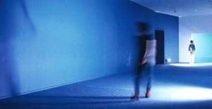 Tate's Turbine Hall commission artist - Dominique Gonzalez-Foerster's Seance de Shadow II (bleu), 1998