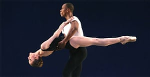 A scene from Agon by New York City Ballet, London Coliseum
