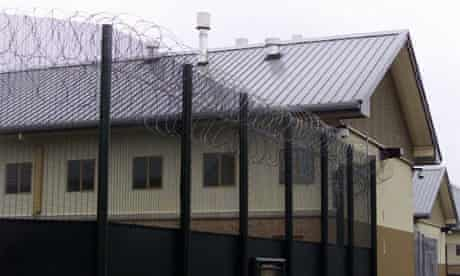 Yarl's Wood immigrant detention centre, Bedfordshire