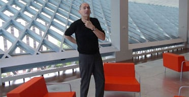 Rem Koolhaas in Seattle Central Library