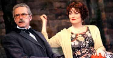Jeremy Irons and Anna Chancellor in Never So Good, National Theatre