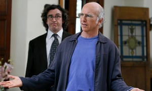 Steve Coogan and Larry David in Curb Your Enthusiasm
