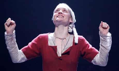 Anne-Marie Duff as Saint Joan, National Theatre