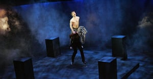 Daniel Radcliffe in the West End production of Equus
