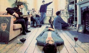 Brian Cannon's cover design for Oasis's Definitely Maybe album