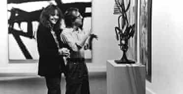 Woody Allen woos Diane Keaton in Manhattan