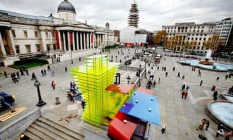 Trafalgar Square fourth plinth - Thomas Schütte's Model for a Hotel