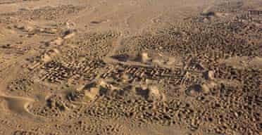 Umm al-Ajarib archaeological site in southern Iraq