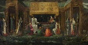 The Sleep of Arthur in Avalon by Edward Coley Burne-Jones