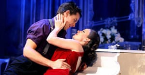 Julian Ovenden (Armand) and Ruthie Henshall (Marguerite) in Marguerite, Theatre Royal Haymarket