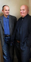 Nick Ormerod and Declan Donnellan, joint founders and artistic directors of Cheek by Jowl