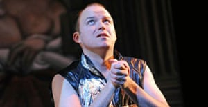 Rory Kinnear in Revenger's Tragedy at the National Theatre 2008
