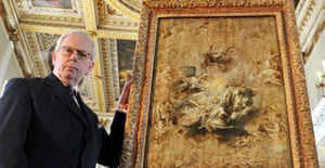 David Starkey and Rubens's sketch for the Banqueting House ceiling