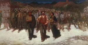 The Living Torrent by Giuseppe Pellizza, National Gallery