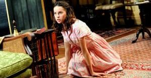 Felicity Jones (Laurel) in The Chalk Garden