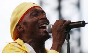Jamaican singer Jimmy Cliff. Photograph: Pascal Guyot/AFP