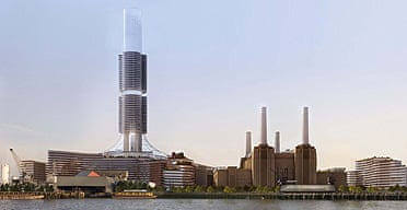 Redevelopment plans for Battersea power station