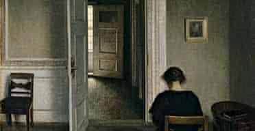 Vilhelm Hammershøi, Interior, Strandgade 30, 1908