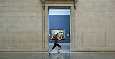 Martin Creed's Work No 850, Tate Britain