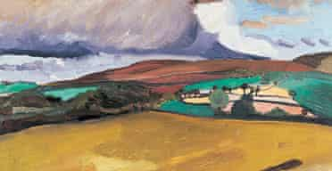 Cold Fell by Ben Nicholson 1922