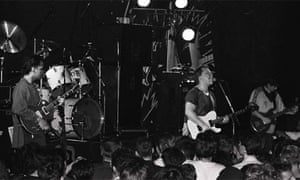 The Pixies in 1989